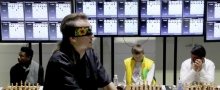 GM Timur Gareyev plays a 48 board blindfold simul