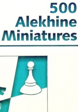 chess equipment: 500 Alekhine defense miniatures