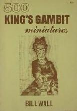 Chess equipment: 500 King's gambit miniatures book