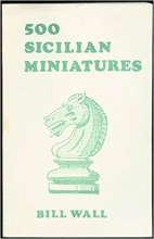 chess equipment: 500 Sicilian defense miniatures book