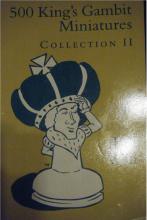 Chess equipment: 500 King's gambit miniatures book 2