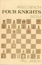 chess equipment: Anglo-Benoni four knights chess book