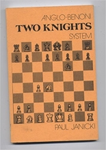 chess equipment: Anglo-Benoni two knights chess book