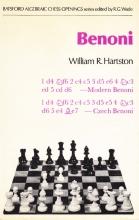 Chess equipment:Benoni defense chess book