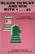 chess equipment: Black to play and win with 1..g6 chess book