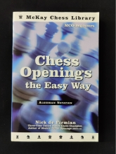 Chess equipment: Chess openings the easy way chess book