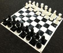 Small Giant Chess Set