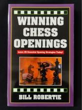 Chess equipment: Winning chess openings book.