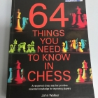 Chess equipment: 64 things you need to know in chess book