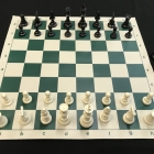 Roll-up Chess Set