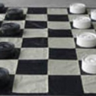 Large Giant Checkers Set