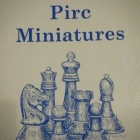 chess equipment: 500 Pirc defense miniatures