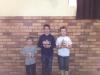 Pymble Saturday Fun Tournament May 2013 - Prizewinners